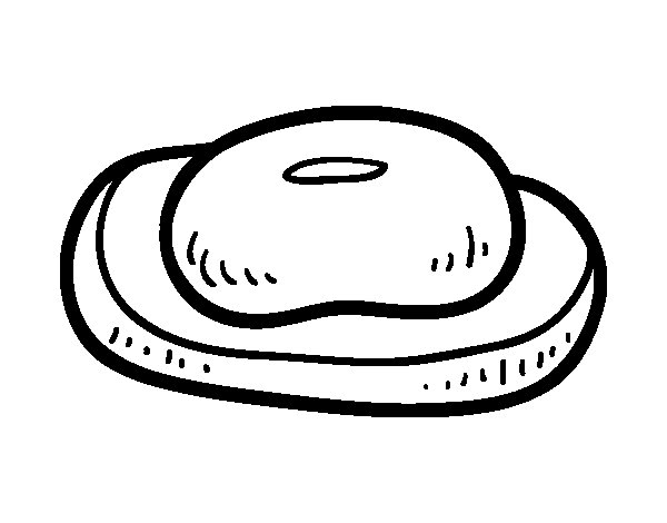 A bar of soap coloring page - Coloringcrew.com