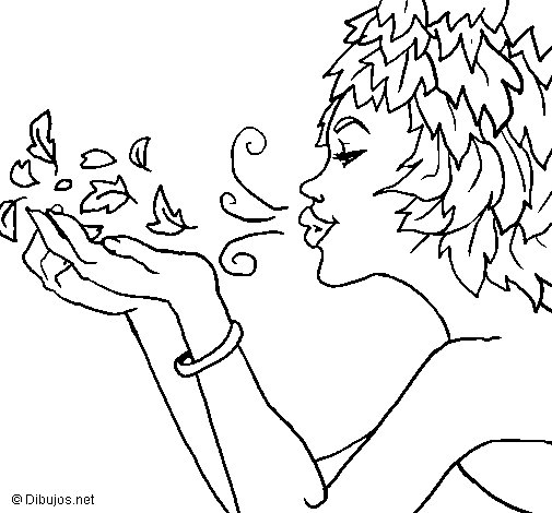 Anemoi coloring page