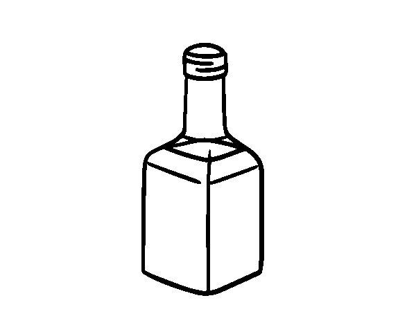 Balsamic vinegar coloring page
