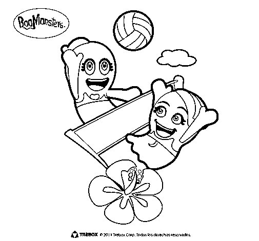 BooMonsters 2 coloring page