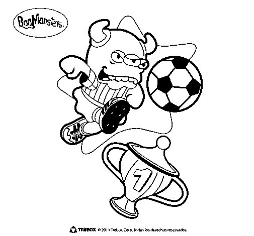 BooMonsters 3 coloring page