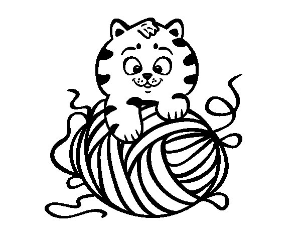 yarn coloring pages - photo #28