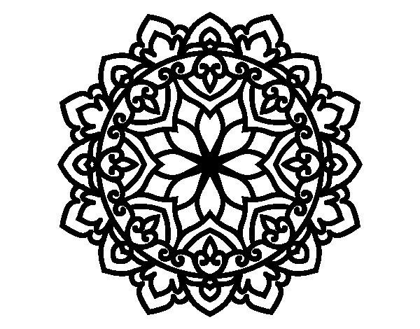 Celtic mandala coloring page - Coloringcrew.com