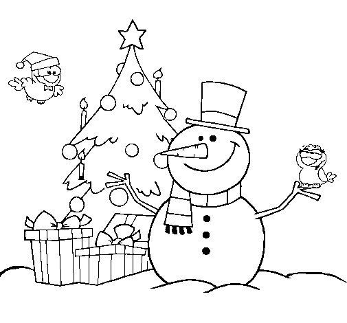 Christmas II coloring page