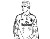 Cristiano Ronaldo coloring page