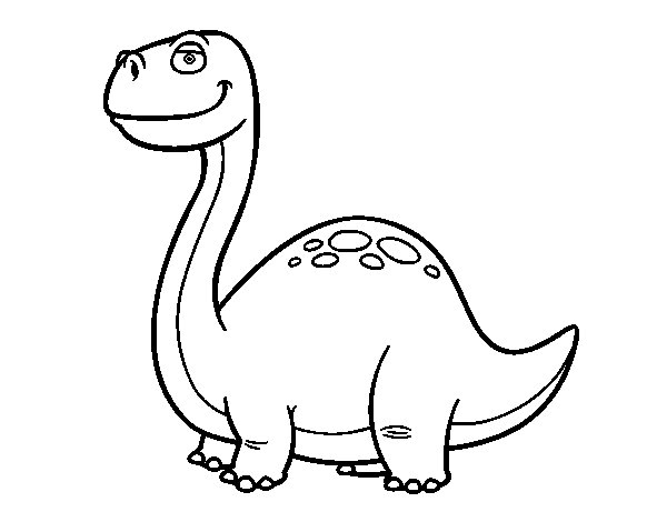 diplodocus coloring pages - photo#32
