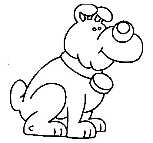 Dog 11a coloring page
