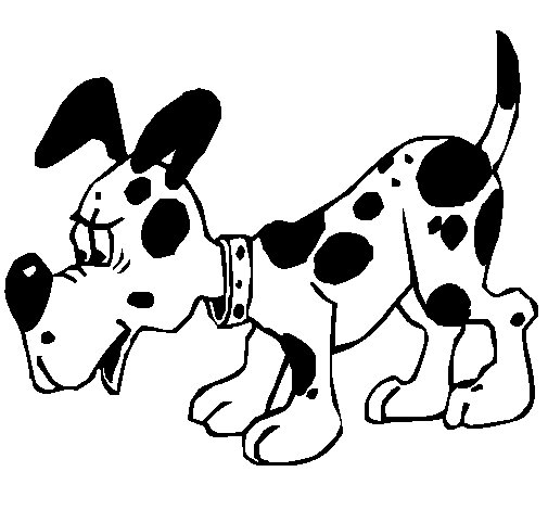 Dog 5a coloring page
