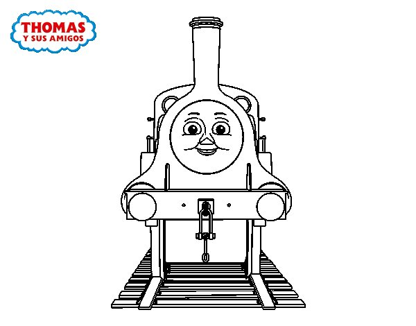 Emily from Thomas and friends coloring page
