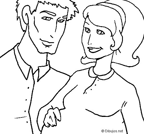 Father and mother coloring page  Coloringcrewcom