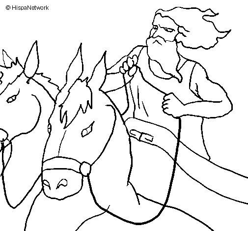 Hades coloring page