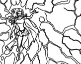 Heroine Storm coloring page