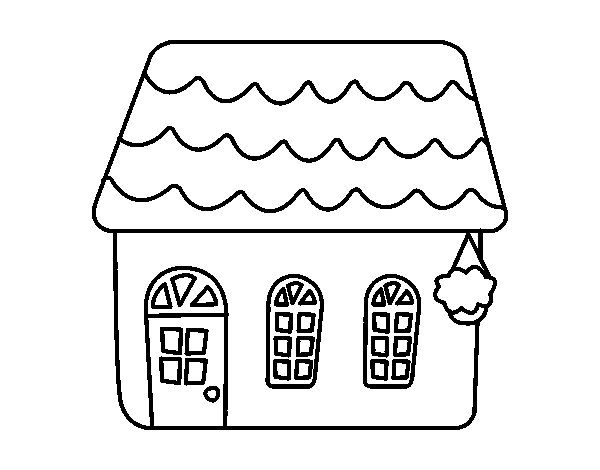 House Of Fairy Tale Coloring Page