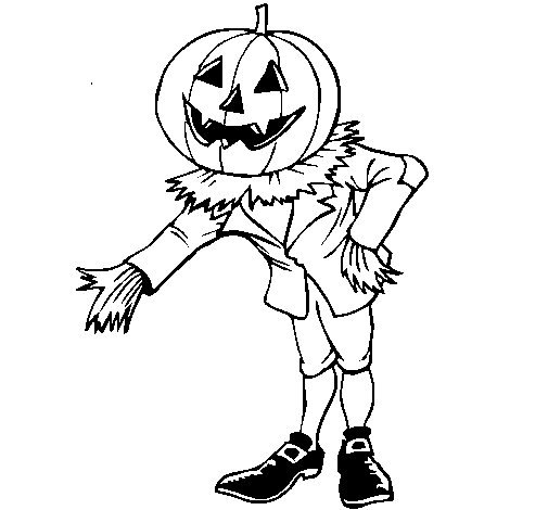 Jack o lantern coloring page for Jackolantern coloring pages