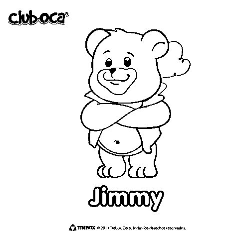 Jimmy coloring page