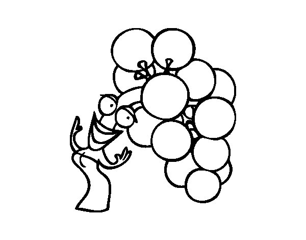 Lady bunch coloring page