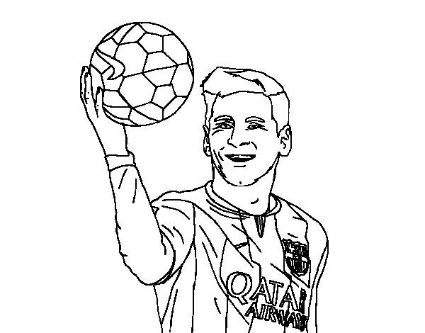 Free Lionel Messi Coloring Pages Soccer Coloring Pages Messi
