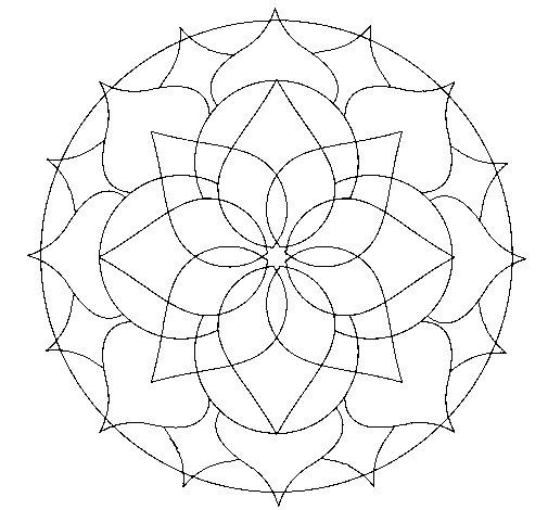 Mandala 14 coloring page