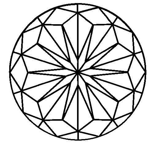 Mandala 41 coloring page
