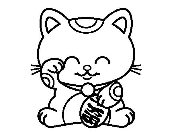 ManekiNeko coloring page
