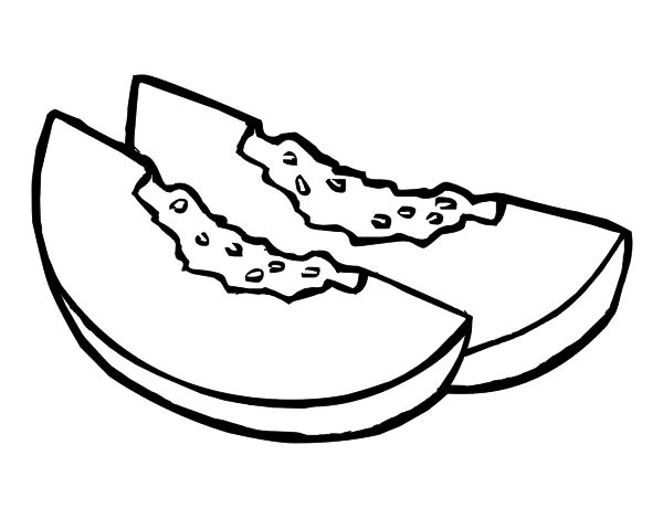 coloring pages shape your future oklahoma - Slice Watermelon Coloring Page
