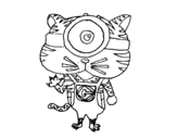 Minion Tiger coloring page