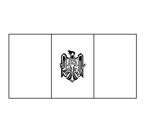 Moldova coloring page