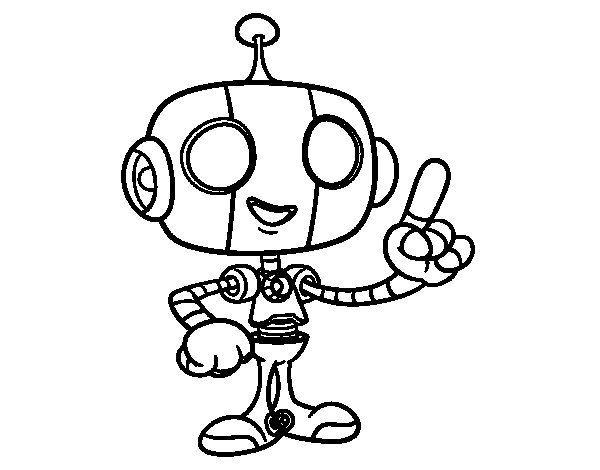 how to draw robots book