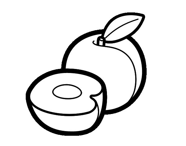 Peaches coloring page - Coloringcrew.com