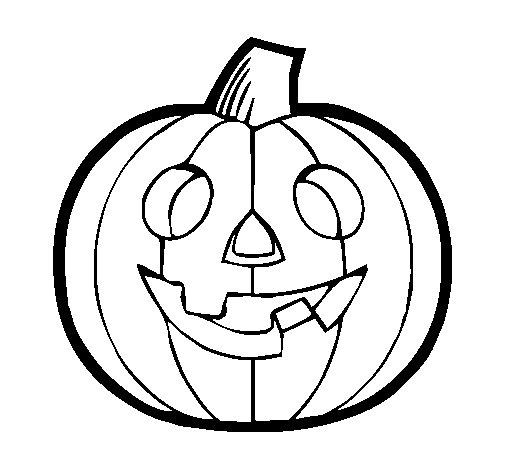 Pumpkin IV coloring page