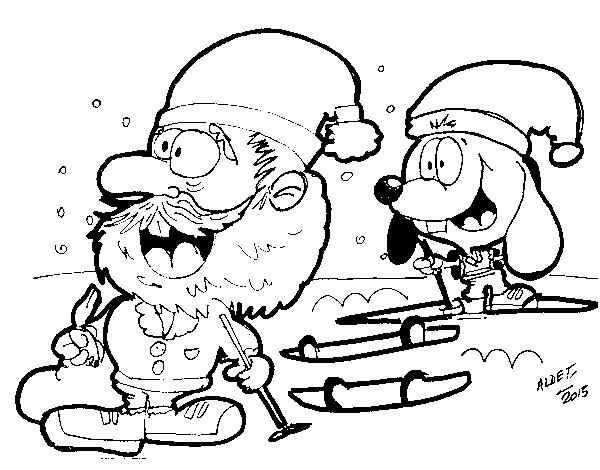 Renato Ski coloring page