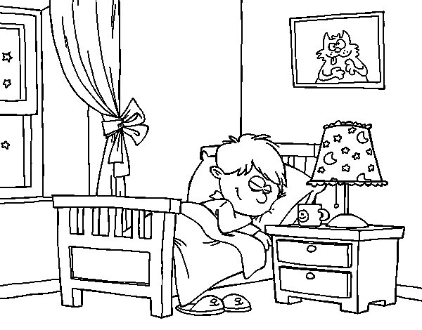 room coloring pages - photo#9