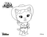 Sheriff Callie's Wild West  coloring page