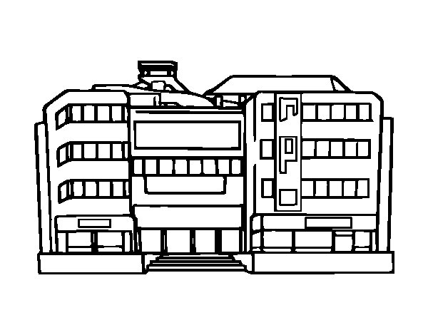 Department Store Coloring Pages Coloring Pages Store Coloring Pages