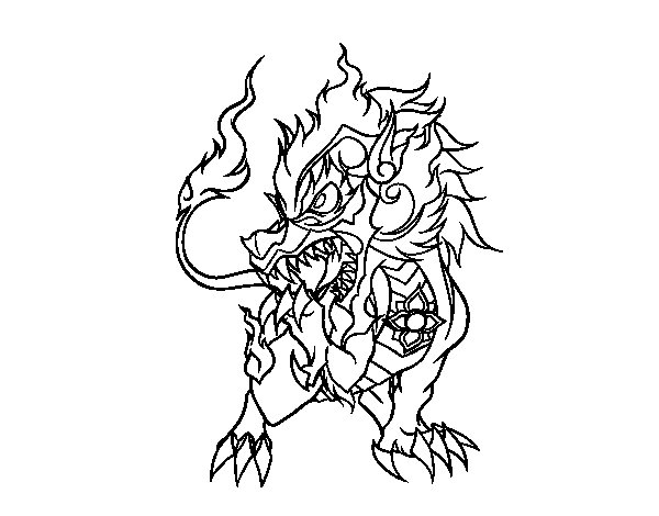 Singha coloring page