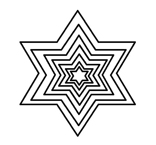 Star 2 coloring page