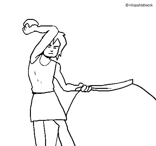 The Stone Age coloring page