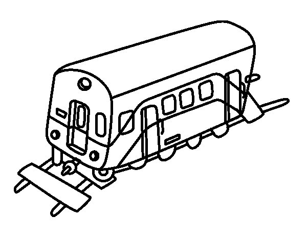 Wagon coloring page