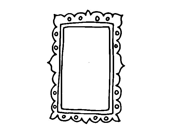 coloring pages mirror - photo#18