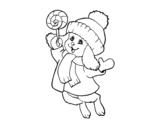 Dibujo de Warm bunny