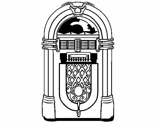 1950s jukebox