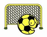 Ball in goal