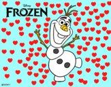 Frozen Olaf dancing