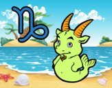 Coloring page Capricorn horoscope painted byponee59