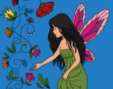 Coloring page Sylph painted byAish