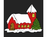 Coloring page House painted byKathy