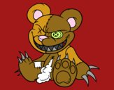 Coloring page Monstrous bear painted byKendall