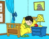 Coloring page Room painted byAnia