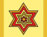 Coloring page Star 2 painted byAnia