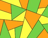 Coloring page Abstract drawing painted byAnia